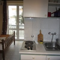 Apartment № 2 for rent, 500 m from Bečići beach in a private house with a yard and parking space (23 m2)