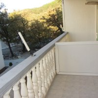 Apartment № 4 for rent, 500 m from Bečići beach in a private house with a yard and parking space (23 m2)