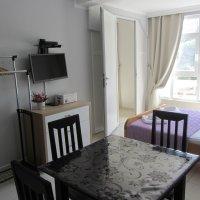 Apartment 150 Meter vom Meer entfernt in Rafailovici №36, 2 Schlafzimmern. 4 Betten (35 qm)