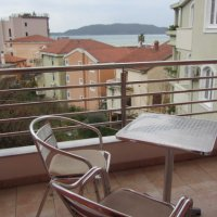 Suite for rent № 203, 130 m from the sea in Rafailovići (30 m2)