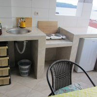 Suite № 4 for rent in Rafailovići, 110 m from the beach