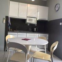 Аренда светлой и просторной квартиры-студии № 1 S=35 кв.м. в Будве до 4-х чел 700 м от моря (Душица)