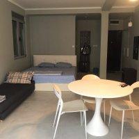 Аренда светлой и просторной квартиры-студии № 1 40 кв.м. в Будве до 4-х чел 700 м от моря (Душица)