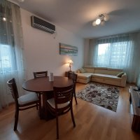 Аренда квартиры 49 кв.м. с 1-й спальней в Будве до 4-х чел 300 м от моря и ТЦ TQ PLAZA (Ольга и Сергей)