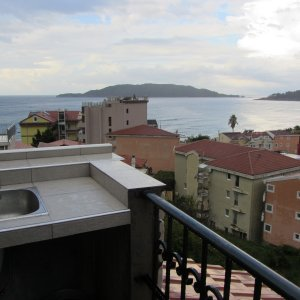 Suite № 6 for rent in Rafailovići, 110 m from the beach