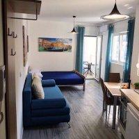 Аренда квартиры-студии 28 кв.м. в тихом месте центра Будвы в 500 м от пляжа (район отеля Москва, Сергей)