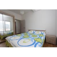 Sales of apartment 78 sq.m. with 2 bedrooms with sea views and the city of Budva